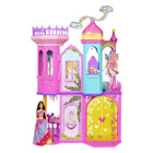 Barbie chateau arc-en-ciel
