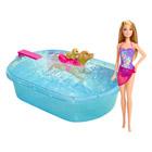 Barbie baignade des chiens