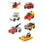 Sam le pompier vehicules blister