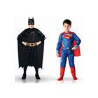 Costumes Batman et Superman taille L