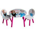 Table avec 2 chaises Reine des Neiges