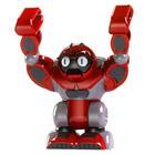 Robot Boombot Humanoide rouge