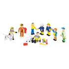 Coffret 10 figurines Sam le Pompier