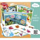 Maxi gommettes animaux repositionnables