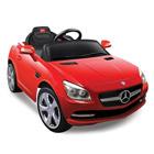 Voiture électrique Mercedes SLK rouge