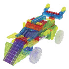 Laser Pegs-voiture rallye 8 en 1