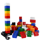 Pack de 75 briques lumineuses stax