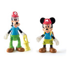 Pack 2 figurines Mickey & Dingo