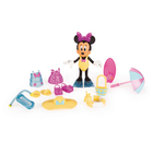 Figurine Minnie fashionista plage