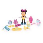 Figurine Minnie fashionista plage