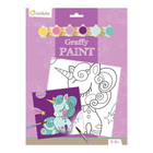 Graffy paint licorne