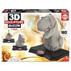 Puzzle 3D Sculpture Tiranosaurus Rex de 160 pièces