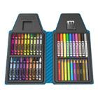 Crayola tip art kit mallette bleue