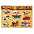 Puzzle son 8 pièces vehicules