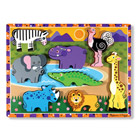 Puzzle chunky safari