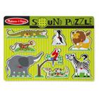 Puzzle son 8 pièces animaux zoo