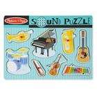 Puzzle son 8 pièces instruments