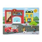 Puzzle son 8 pièces pompier