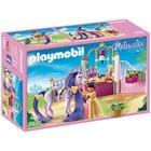 6855-Ecurie avec cheval à coiffer et princesse