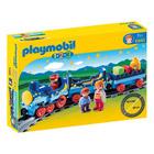 6880-Train étoilé Avec Passagers Et Rails - Playmobil 1.2.3