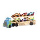 Camion et 6 vehicules bois