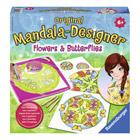 Mandala class fleurs papillons