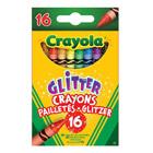 16 crayons pailletés