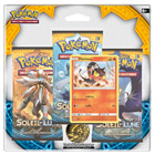 Pokemon-Pack 3 boosters Lune & Soleil