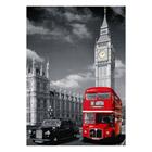 Puzzle 1500 pièces nathan bus londonien