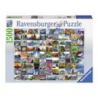Puzzle 1500 pièces les 99 plus beaux endroits du monde
