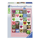 Puzzle 1500 pièces Ravensburger Little hearts