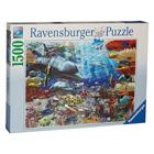 Puzzle 1500 pièces Vie sous marine