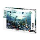 Puzzle 2000 pièces Nathan Grand Palais Aquarium