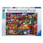 Puzzle 2000 pièces Ravensburger Monde livres