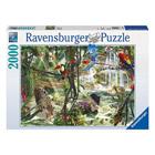 Puzzle 2000 pièces animaux de la jungle