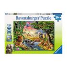 Puzzle 300 pièces Ravensburger Coucher soleil oasis