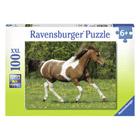 Puzzle 100 pièces XXL cheval au galop