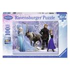 Puzzle 100 pièces XXL Reine des Neiges