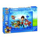 Puzzle 100 pièces XXL équipe Pat'Patrouille