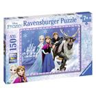 Puzzle 150 pièces XXL amis au palais Reine des Neiges