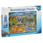 Puzzle 200 pièces XXL animaux Afrique
