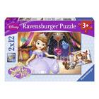 Puzzle 2x12 pièces Princesse Sofia