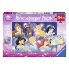 Puzzle 2x24 pièces Disney Princesses