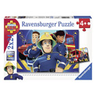 Puzzle 2 x 24 pièes Sam le pompier