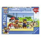 2 puzzles 24 pièces Pat'patrouille