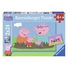 Puzzle 2x24p Peppa Pig