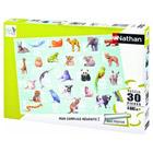 Puzzle 30 pièces ABC animaux