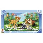 Puzzle cadre 15 pièces bambi et ses amis