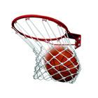 Anneau de basket avec filet et fixations