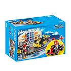 6869-Set atelier de karting - Playmobil pompiers et aéroport